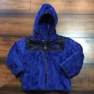 The North Face infant Oso Fleece Hoodie Jacket